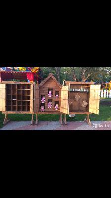 Стоимость перевезти аттракционов деревянных из Геленджик в Краснодар