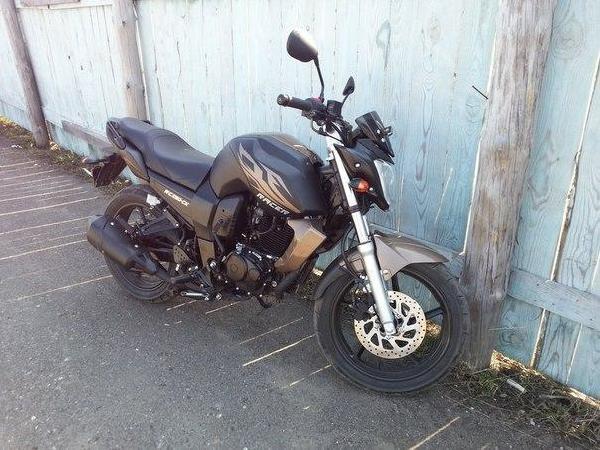 Мотоцикл Racer RC250 из Томск в Междуреченск