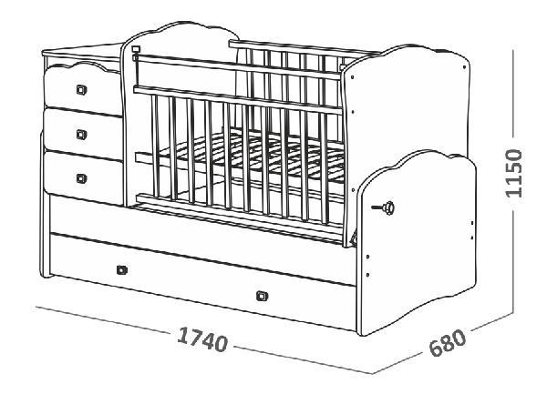 Перевозка кровати по Ноябрьску