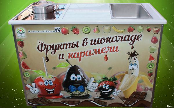 Перевезти автотранспортом стойку «фрукуты В карамели и шоколаде» догрузом из Челябинск в Кировская область