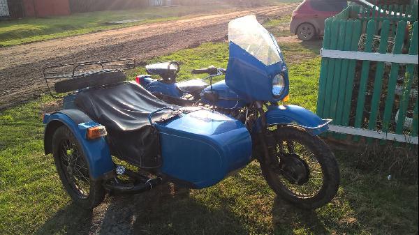 Мотоцикл Урал с люлькой из Тюмень в Нижневартовск