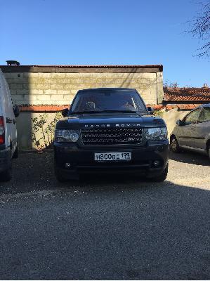 Land Rover Range Rover / 2011 г / 1 шт из Франция, Paris в Россия, Москва