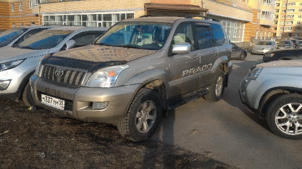Тойота Прадо 120 / 2004 г / 1 шт из Санкт-Петербург в Абакан