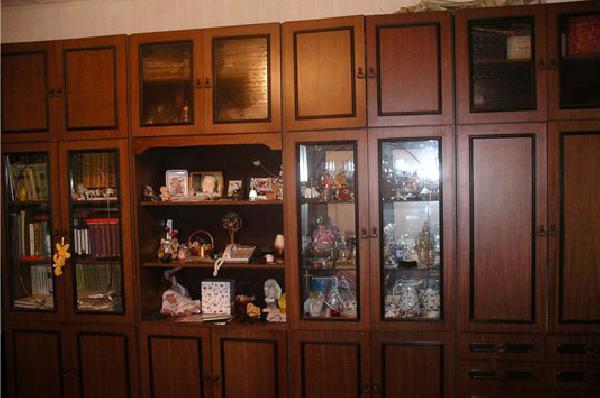 Перевозка мебельной стенки на дачу (3 секции) лежа из Москва в садовое товарищество Молния