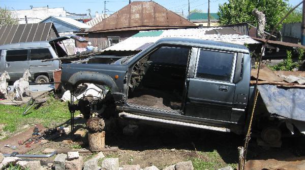 Сколько стоит перевезти перевозка автомобиля, другое, кабина ммс л200, 91гв  из Барнаул в Хабаровск