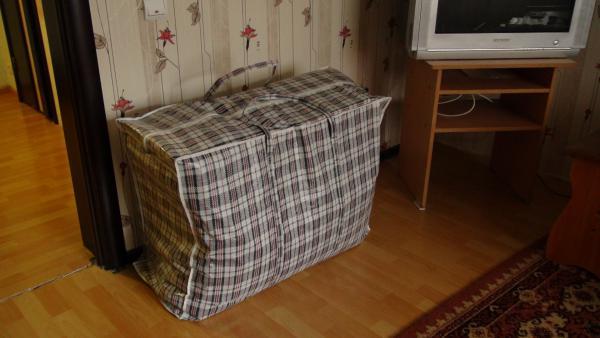 Доставка стандартного прямоугольного баула грузчики из Екатеринбург в Москва