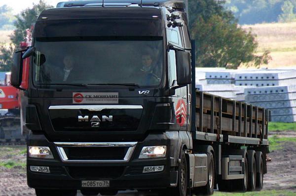 Стоимость перевозки строительных грузов из Рязань в Калуга