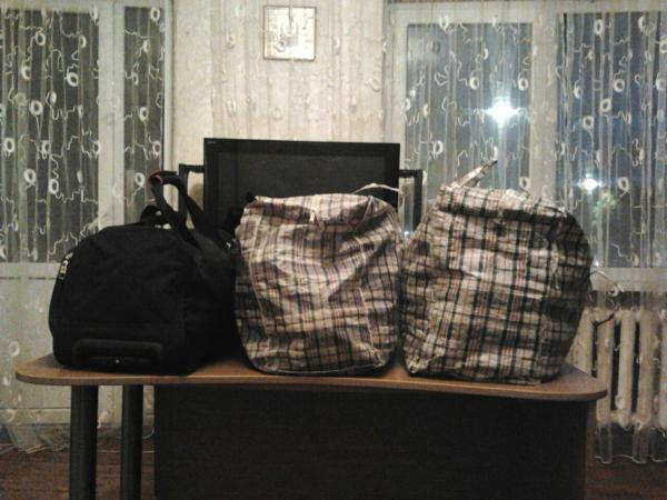 Перевозка недорого три сумок С вещами из Владикавказ в Ростов-на-Дону