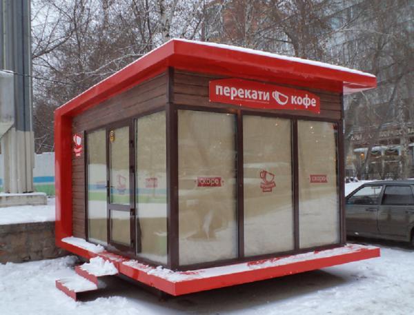 Автодоставка павильона для торговель частники из Россия, Новосибирск в Казахстан, Астана