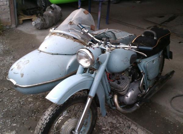 Доставка автотранспортом мотоцикла С коляской попутно из Красноярск в Новосибирск