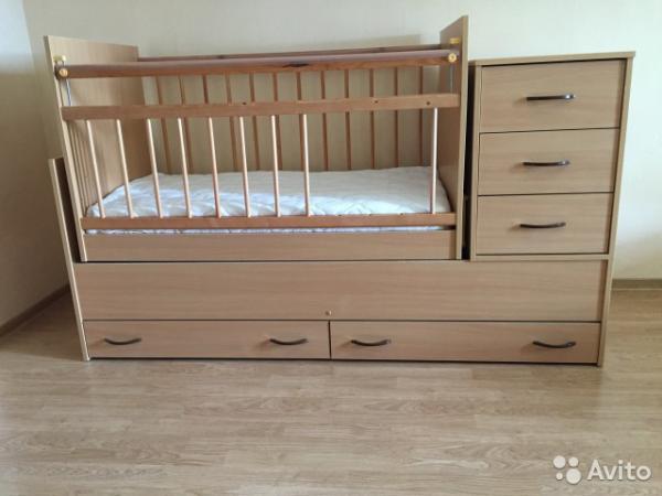 Дешевая доставка детской кроватки по Москве