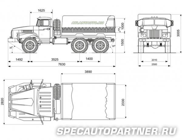 Сколько стоит транспортировать грузовик  из Миасс в Москва