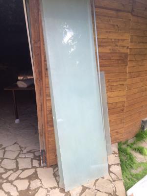 Перевозка стекла для душевой кабин лежа из Домодедово в Колтуши