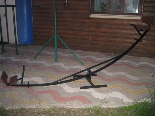 Машина для перевозки качели из Брюховецкая в Сочи