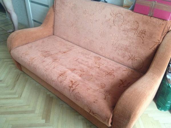 Доставить 2-местный диван из Москва в Краснознаменск