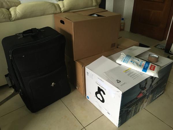 Отвезти домашние вещи 3 коробки и 1 чемодан из Москва в Энгельс
