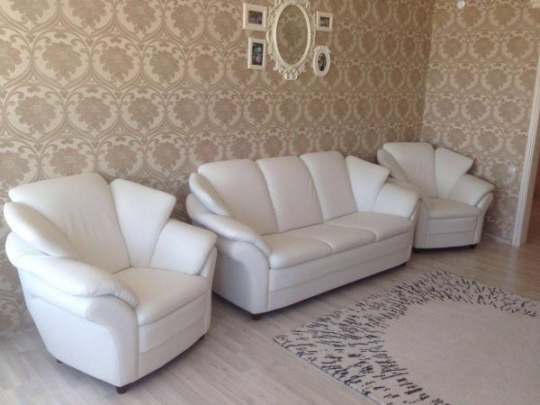Грузовые перевозки кожаного дивана, кресла на газели фермер попутно из Казань в Заинск