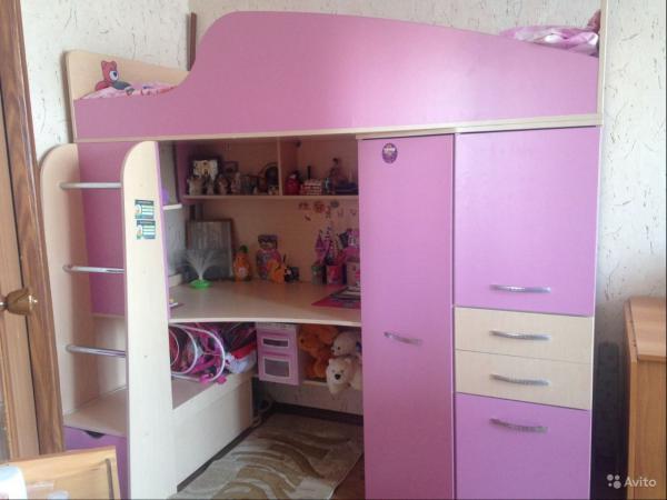 Дешевая доставка детской стенки из Санкт-Петербург в Черкесск
