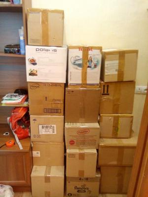 Заказать грузотакси для перевозки коробок, велосипеда, гладильной доски, сушилки для белья догрузом из Самара в Новороссийск