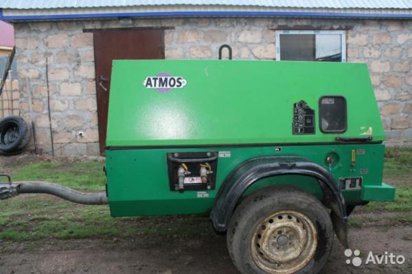 Доставить компрессора дизельный из Пономаревка в Тольятти