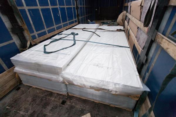 Перевезти фиброцементные панели из Детчино в Тюмень