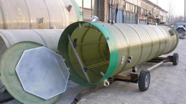 Транспортировка стеклопластиковой емкости недорого из Богатые Сабы в Казань