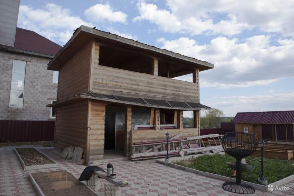 Доставка перевести Деревянного каркасного строения 60 кв из Скрепящево в Чисмена