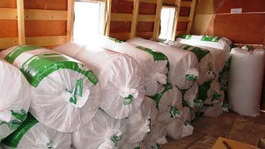 Перевозка утеплителя как синтепона В рулонах, очень лёгкого лежа из Одинцово в Тимирязево