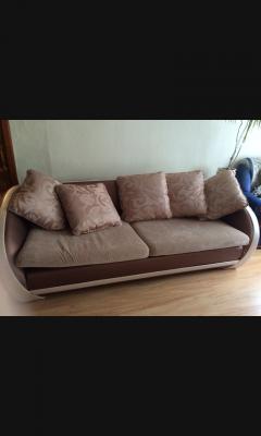 Грузоперевозки на газели дивана 3-местного дешево попутно из Владимир в Москва