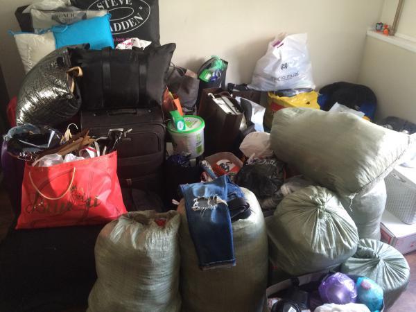 Перевозка вещей домашних, коробок, чемоданов лежа из Россия, Мытищи в Украина, Киев
