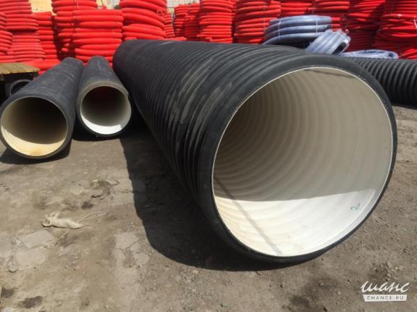 Грузопереовозки труб пластиковых диам.  950 мм, 5 шт услуги из Электросталь в деревня Лужки