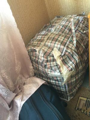 Доставка 4 сумок, сушилки для белья из Санкт-Петербург в Москва