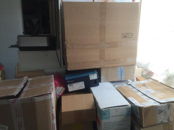 ГАзель термобудка для перевозки несколько коробка С личными вещами догрузом из Москва в Краснодар