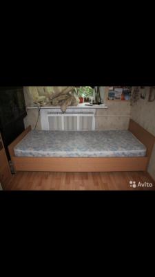 Газель перевезти односпальная кровать по Москве