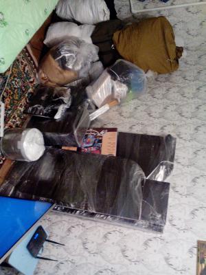 Доставка стенки пода тв, телевизора жк, стиральной Машиной, микроволновой печи, стула для кормлений, мешков в квартиру из Евпатория в Щелково