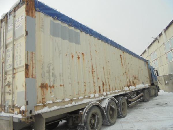 Заказ газели для контейнера из Иркутск в Новороссийск