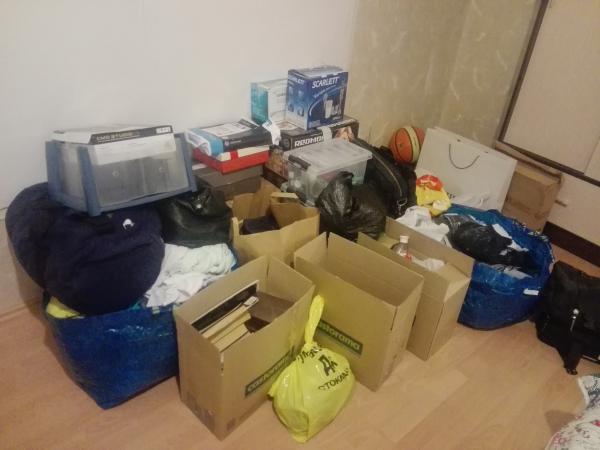 Доставка сумок С личными вещами в квартиру по Москве