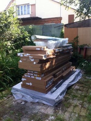 Стоимость перевезти корпусный мебель В разборе, коляску 2в1 ( коробка) догрузом из Москва (п Десеновское) в Алакуртти