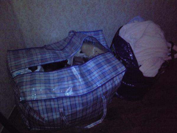 Доставка 2 большие клетчатые сумки с вещами(одежда) из Санкт-петербурга в Ростов-на-дону