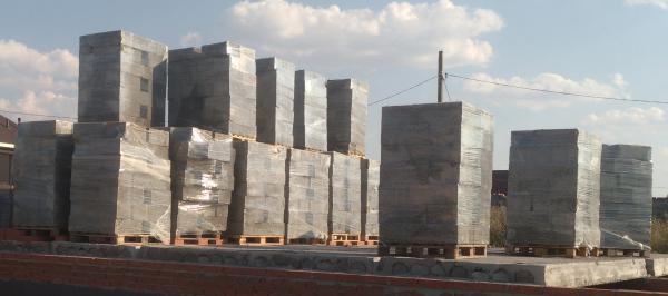 Транспортировка вещей : Тольятти-Оренбург 30кубов арболитовых блоков из Тольятти в Подгороднюю Покровку