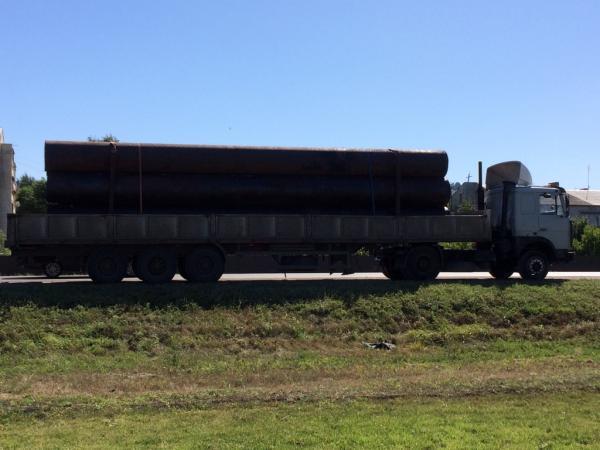 Заказ транспорта перевезти трубы диама 82 см, дл. 11 М (8 шт) из Ульяновск в Уфа