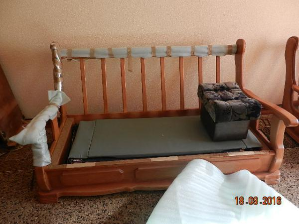 Перевозка недорого дивана 3-местного, дивана 2-местного, стола для 4-х персон И больше, стульев, кресла большого, тумбочки, столика, пуфика, духовой шкафа, тренажора разобранного, 10 сахарных мешков, ковров, средних коробок из Нальчик в Ленинградская обла