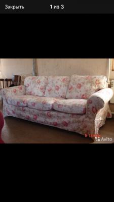 Доставка дивана 3-местного в квартиру из Санк в Московская область (р-н Чеховский)