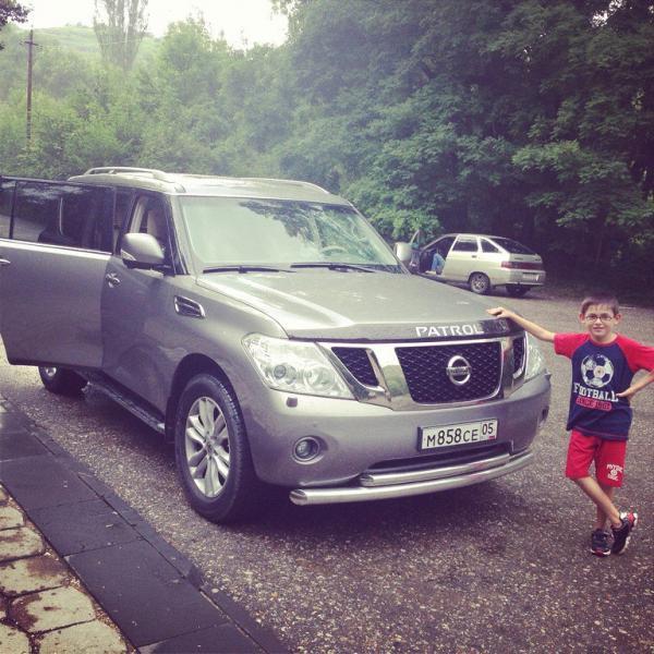 Транспортировать автомобиль стоимость из Дербент в Сургут