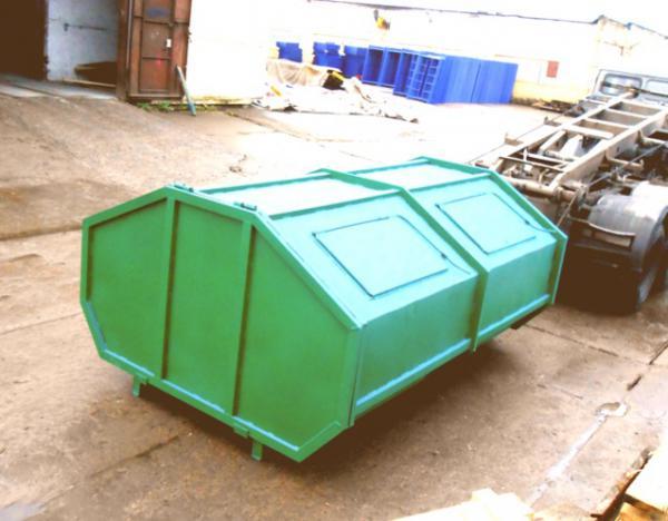 Доставка контейнера 6м3 для отходов чистого металлического стоимость из Красное Село в Санкт-Петербург