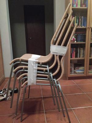 Газель перевезти кухонные стулья по Москве