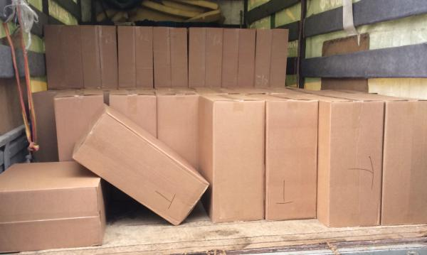 Заказ газели для коробок 26 штук по Москве