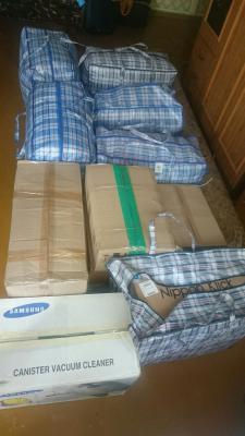 Перевезти 6 сумок, 6 коробка, 1 сверток из Россия, Воронеж в Белоруссия, Минск