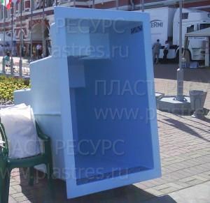 Автодоставка композитной купели частники из Нижний Новгород в Пригородняя Слободка