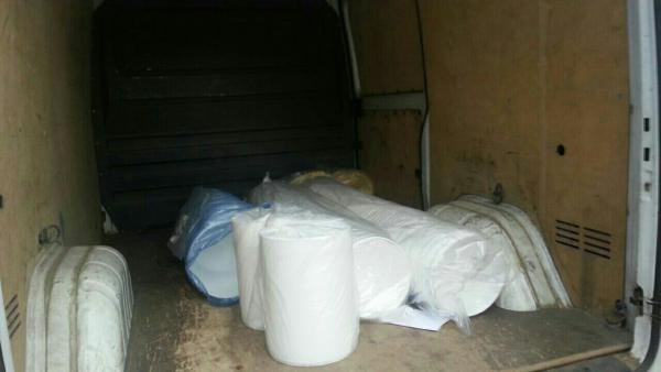 Транспортировка пластиковых ведра из Москва в Владимир